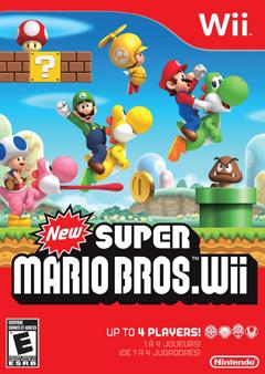 """Time to Play the Game: """"New Super Mario Bros. Wii"""""""