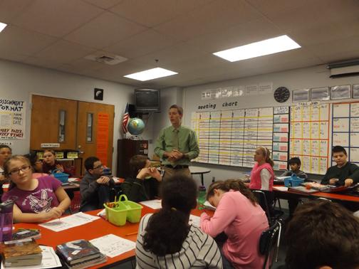 New science teacher joins sixth grade