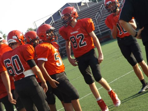 David Rizzo is a rising star on the football field