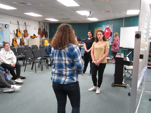 The theater returns to Sevier Middle classrooms