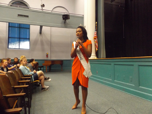 First African American Miss Tennessee visits Sevier