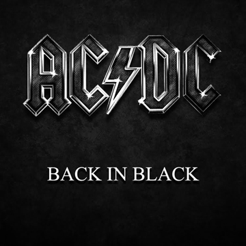 EVERGREEN BLACK ALBUM. The music of AC/DC
