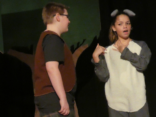 """Shrek Jr"" arrives on the Sevier Middle School stage"