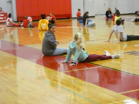 REQUIRED RELATED ARTS. Several Sevier students participate in gym class. All students have to take at least one quarter of gym per school year.