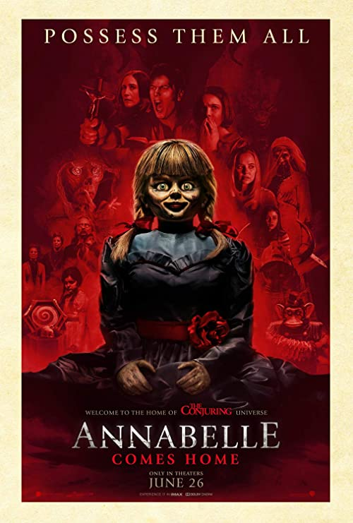 "NOT SCARY. The movie ""Annabelle"", despite some good ideas, never manages to scare the audience."