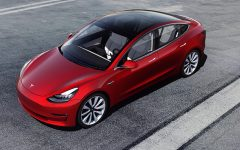 CHARGED AND READY. The Tesla Model 3 is one of several new electric cars that have hit the market in recent years. They may not be the magic cure to air pollutions some people have hoped.
